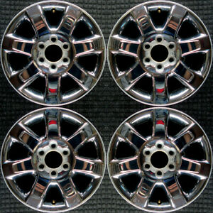 Ford F 150 Chrome Clad 18 Oem Chrome Clad Wheel Set 2013 To 2014