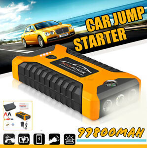 12v Led Power Bank Battery Charger 4in1 Usb Portable Car Jump Starter Emergency