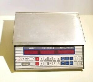 Detecto Cardinal Pc 20 B Commerical Deli Produce Price Computing Scale No Cables