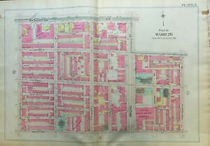 1903 Point Breeze Philadelphia Pa 3rd Regiment Armory 13th St 17th St Atlas Map