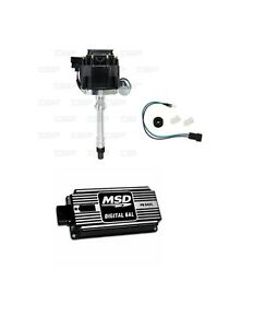 Msd 64253 Ignition Box Kit Tsp Jm6501bk Hei Chevy V8 Distributor Kit 350 454