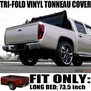 For 95 04 Toyota Tacoma 6 Ft 72 Truck Bed Tri Fold Soft Vinyl Tonneau Cover