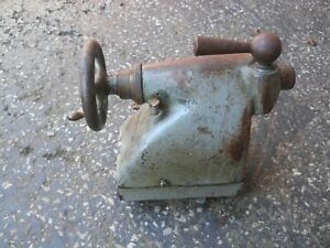 Vintage Machinist South Bend Lathe Tail Stock Free Shipping