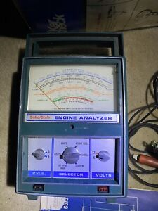 Vintage Professional Quality Engine Analyzer