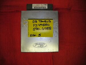 2003 Ford Taurus 3 0 Ohv With Ax4n Transmission
