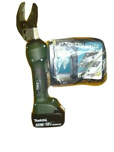 18v Greenlee Gator Es32x Hydraulic Cable Wire Cutter Charger Battery 5 0