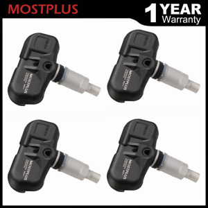 Set 4 Tire Pressure Sensors Tpms For Toyota Tundra Prius Lexus Is F Gs350 Scion