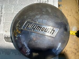 Vintage Plymouth 1937 1940 Baby Moon Hub Cap Wheel Cover In Good Condition