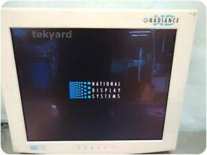 National Display Systems Radiance Sc sx19 a1a11 Lcd Flat Screen Monitor 22528
