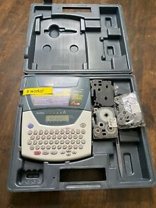 Brother Model Pt 2200 P touch Electronic Labeling System With Case