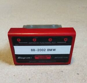 Snap On Mt2500 Bmw Primary Cartridge For Red Brick Scan Tool Obd2