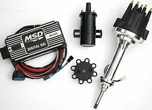 Msd Ignition 6al Box W Tsp Pro Billet Distributor Dodge Mopar 383 400
