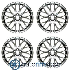 Ford Mustang 2015 2020 19 Oem Staggered Wheels Rims Set Hyper