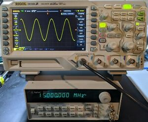 Agilent 33120a 15 Mhz Function Arbitrary Waveform Generator W option 1 Tested