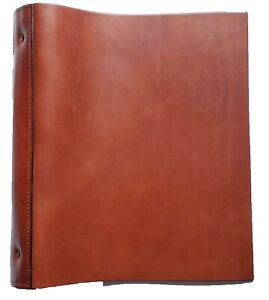 Performore Soft Leather 3 Ring Binder