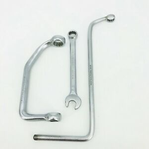 Proto 3 Wrench Set 6541 9 16 Distributor 6420 3 4 Off Set And 1241 14mm Combo