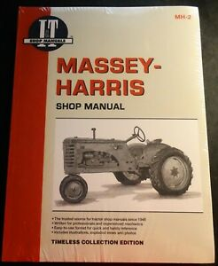 I t Massey harris Tractor Service Manual New 20 22 30 44 55 81 82 Mh 2
