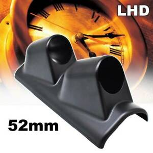 52mm 2 A Pillar Dual Hole Gauge Pod Dash Meter Mount Bracket Racing Boost Turbo