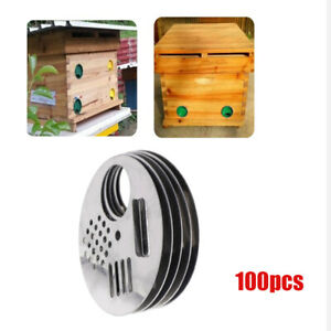 100pcs pack Bee Hive Box Entrance 6 8cm Durable Tool Supplies Accessory