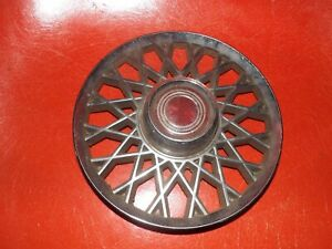 74 78 Ford Mustang Ghia Oem 14 Hubcap Center Honeycomb Wire Wheel Cover G1027