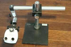 Bausch Lomb Stereozoom 3 Microscope Mead Johnson Co Boom Stand 10 25x