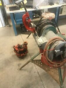 Ridgid 300 Pipe Threader With 141 Pipe Chain Vice
