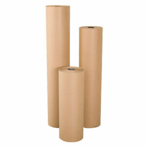 18 Wide X 900 Long 40 Lb Rolled Brown Kraft Paper Shipping Void Crafting Fill