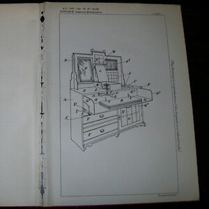 Combination Bedroom Suite Patent Cowley London 1898