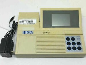 Hanna Instruments Ph Meter Ph301 Bench Top Meter Microprocessor Pc Compatible