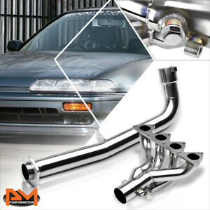 For 90 91 Acura Integra B18 B18a1 Stainless Steel 4 1 Exhaust Header Manifold