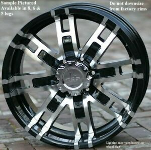 Wheels For 20 Inch Dodge Ram 1500 2007 2008 2009 2010 2011 2012 Rims 1896