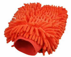 Clearance Abn Car Wash Chenille Microfiber Mitt 1 pack Reusable Cleaning Mit