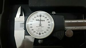 505 741 Mitutoyo Dial Caliper 8 W Case Preowned No Owner Branding