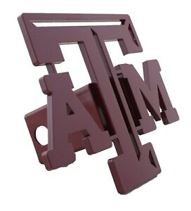 Texas A M Large Hitch Cover