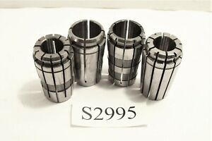 Tg100 Kennametal Collets And More 4pcs Tg 100 Collets 2 1 2 And 2 1 Dia