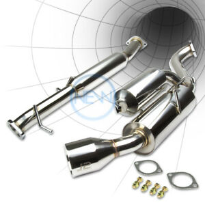 J2 For 89 99 Mazda Miata Mx5 eunos Catback Exhaust Power Muffler 4 5 Tip bolt