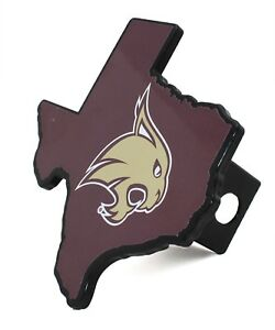 Texas State University Metal Hitch Cover