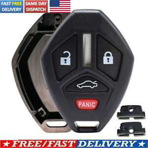 For Mitsubishi Eclipse Galant Lancer Evo Us Key Fob Case Shell Pad Replacement