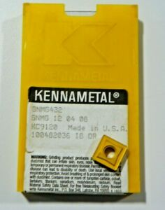 10 New Kennametal Snmg 432 Kc9120 Carbide Inserts P342s