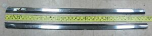 Oem Rocker Trim Moulding Rh Lh Set 1966 Buick Skylark Grand Sport Gs bin25