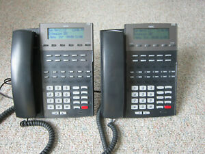 Nec Dsx40 4 X 8 Key Telephone System With 2 22 Btn Phones Cutdown Cable works
