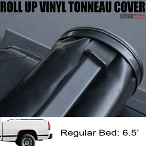 Lock Roll Up Soft Tonneau Cover For 88 00 Chevy C K Silverado 6 5 Ft Short Bed