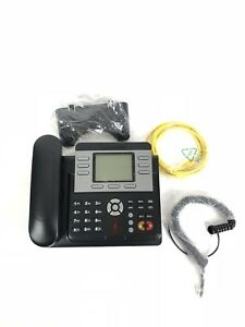 New Voice Over Ip Phone Home office business Black
