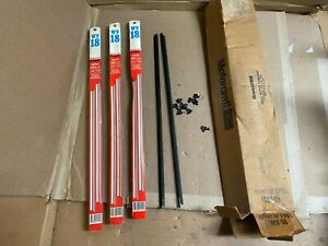 Ford Wv 18 Windshield Wiper Blade Refill Kit New Old Stock Lot Of 4 Sets