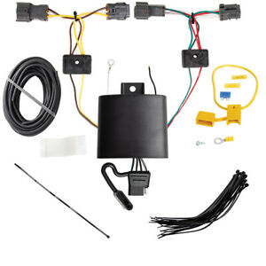 Trailer Wiring Harness Kit For 19 20 Hyundai Tucson All Styles Plug Play T one