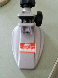 Spi Micrometer Stand 10 455 4 For Use With Micrometer Up To 4