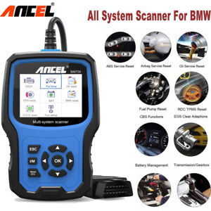 All Sysyem For Bmw Obd2 Scanner Abs Oil Epb Sas Srs Tpms Reset Diagnostic Tool