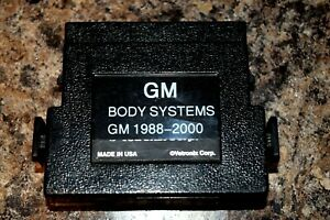 Vetronix Gm 88 00 Body Systems Cartridge For Tech 1 Or Mastertech