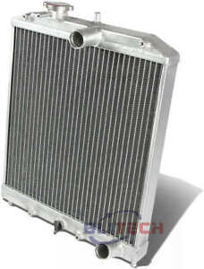 2 Row Aluminum Radiator For 1996 2000 Honda Civic Dx lx ex Eg Ek D15 D16 92 93