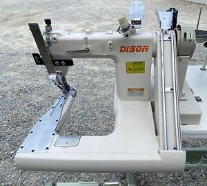 Dison Ds 927 Feed Off The Arm Double Chainstitch Industrial Sewing Machine